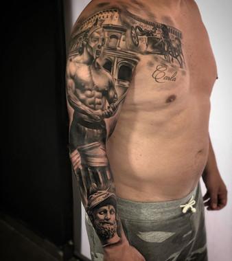 Brazo terminado!  Con @tattooshop.es  @t