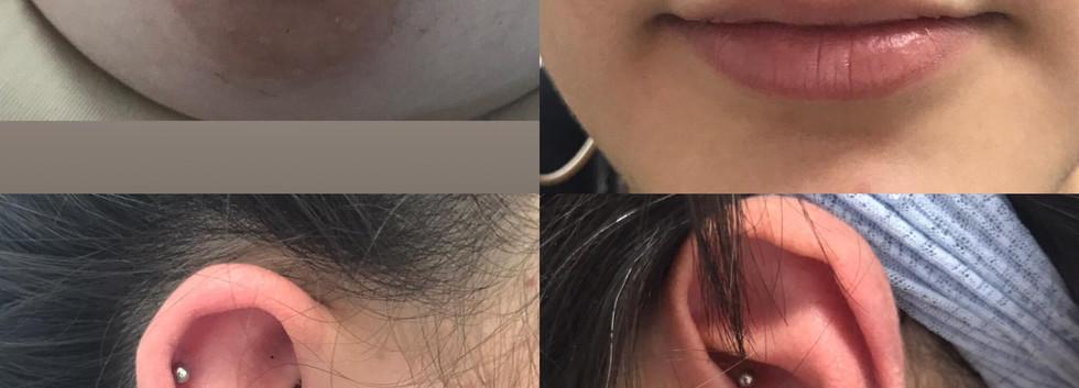 Nipple / Septum / Daith / Triple Lobe