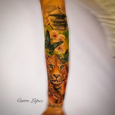 🐆 LEOPARD 🐆  Con @tattooshop.es  En @t