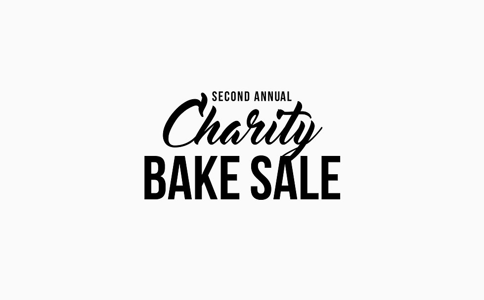 Charity Bake Sale 2018 Logo