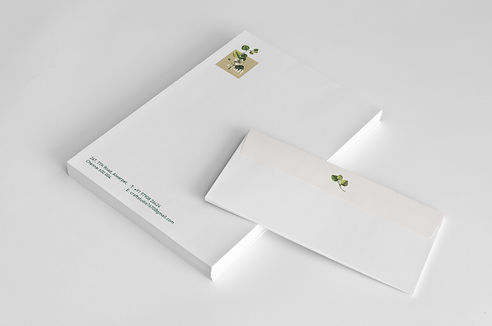 Craft Studio Letterhead and Envelope