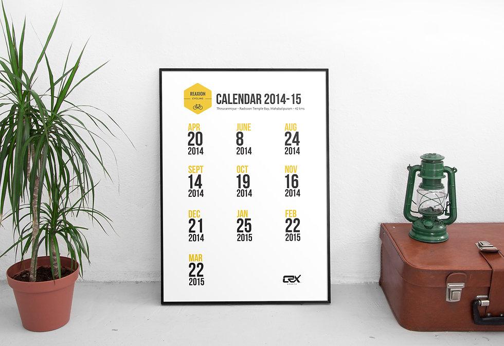 Reaxion Cycling Calendar