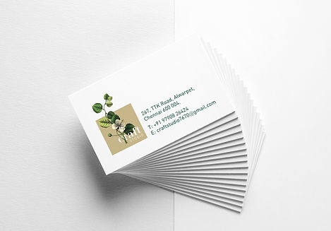 Craft Studio Business Cards