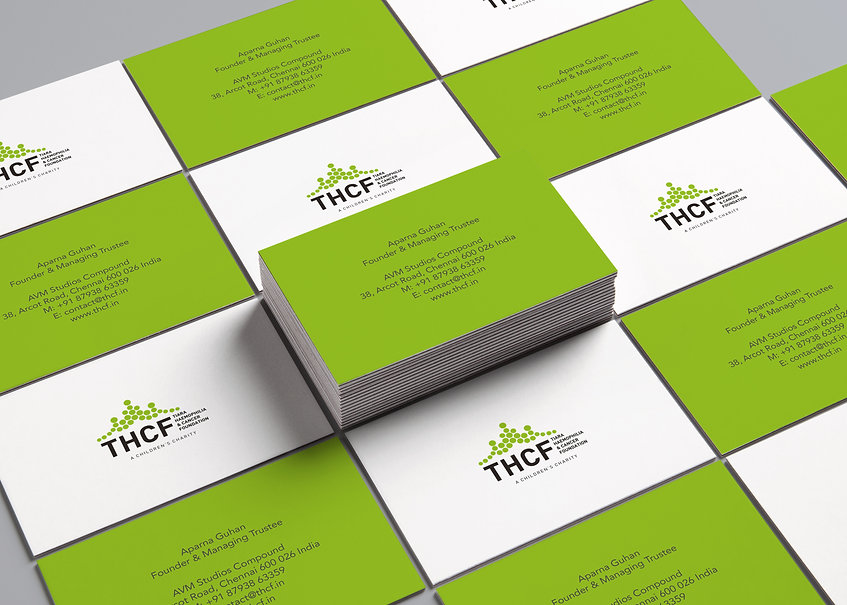 THCF Children's Charity Business Cards