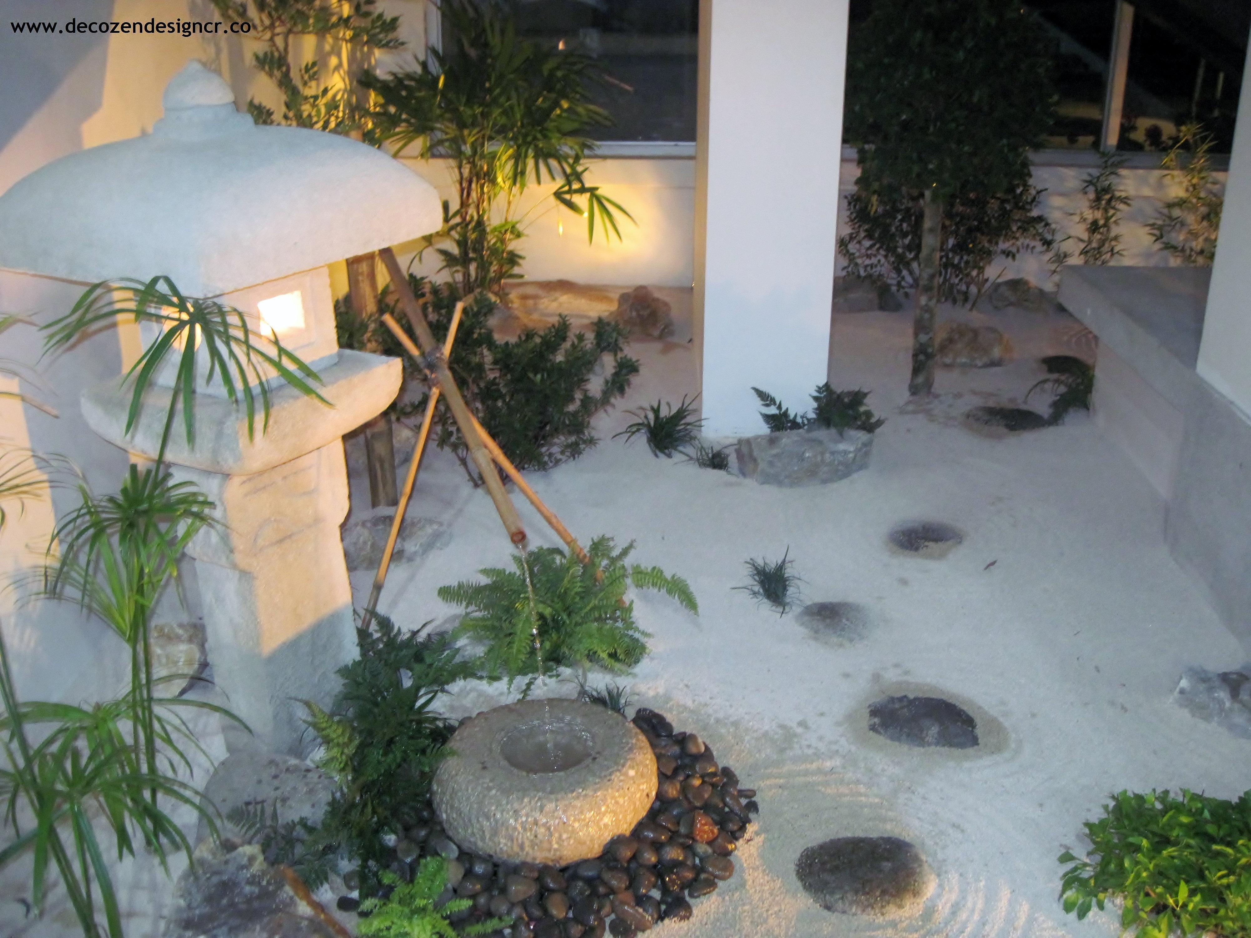 Jardines zen costa rica deco zen design jard n japon s for Jardin interior bajo escalera