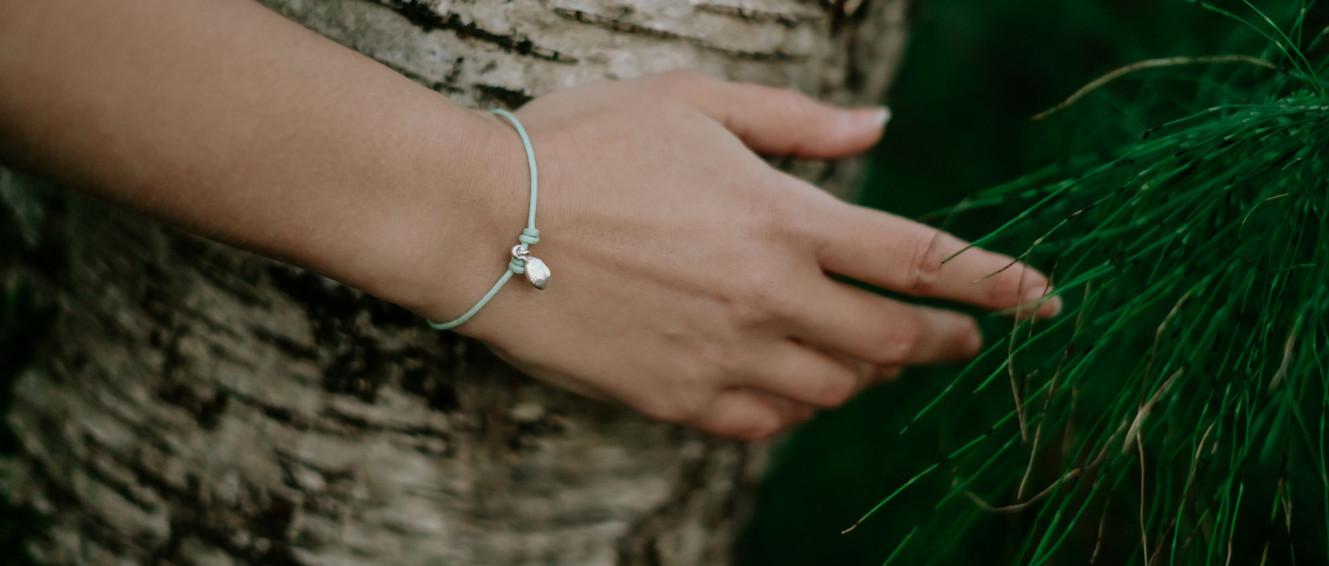 Pépin de Citron - Bracelet Argent sur Co