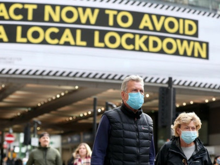 Greater Manchester Eyes Millions In Extra Lockdown Funding As Talks Continue