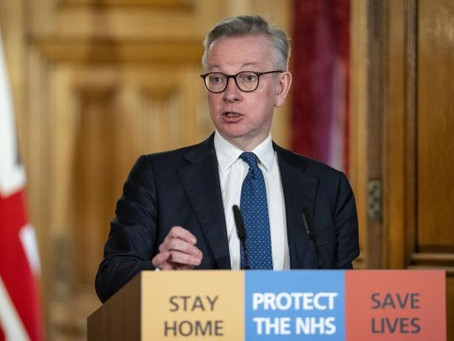 Gove Warns New Lockdown Controls May Remain Until March