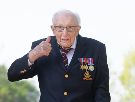 Captain Sir Tom Moore Dies Aged 100 After Testing Positive For Covid-19
