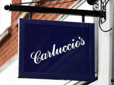 1,000 Jobd To Go As Carluccio's Bought In Rescue Deal By Giraffe Owner