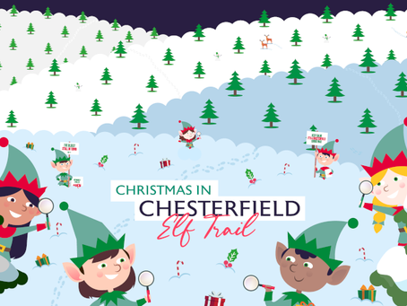 The Chesterfield Elves Have Arrived In Chesterfield Town
