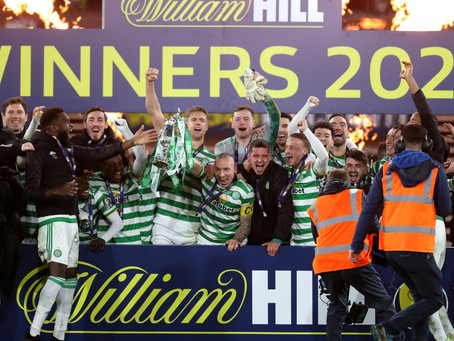 Scottish Cup Win For Celtic