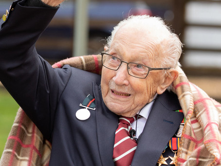 Colonel Tom Moore Is To Be Knighted