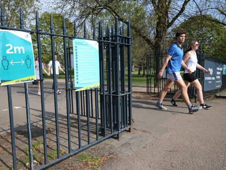 SECURITY READY TO 'STEP IN' TO ENFORCE SOCIAL DISTANCING, PARK BOSS WARNS