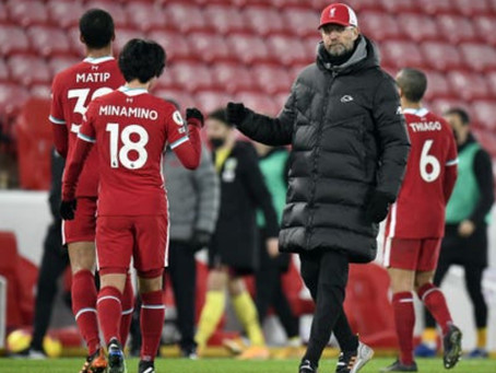 Jurgen Klopp Admits Liverpool Lack Confidence After Unbeaten Home Run Is Ended