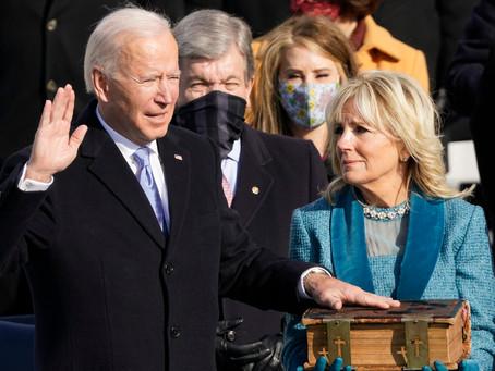 Biden Sworn In As US President