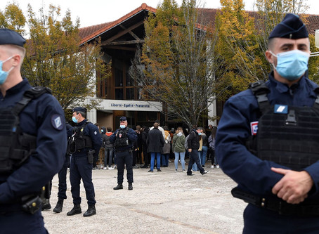 Suspect In French Beheading Horror Was Chechen Teenager