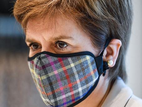 Nicola Sturgeon Apologises For Breaching Covid Rules