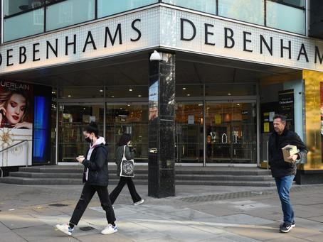 320 Jobs To Go As Debenhams Permanently Shuts Six More Stores