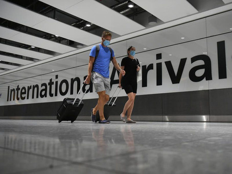 New Rules For Travellers Arriving In England To Come Into Force From Friday