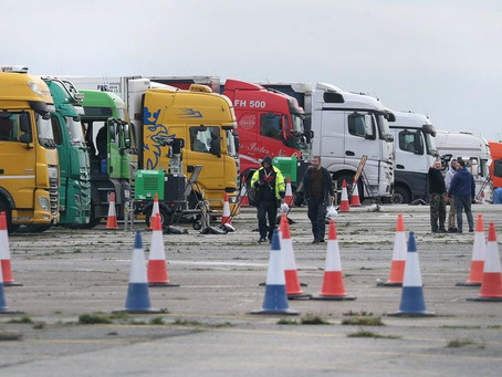 Mass Testing For Lorry Drivers Aims To Ease Congestion As French Border Reopens