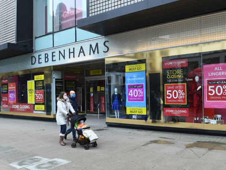 Boohoo Buys Debenhams Brand And Website For £55M – But Stores To Close
