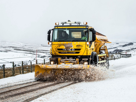 Snow And Ice Brings Disruption To Parts Of UK As People Warned Not To Travel