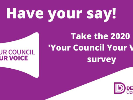 Get Involved In Shaping Derbyshire County Council Services And Budget Priorities