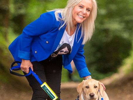 Lottery Winner Trains Assistance Dog After Brother's Epilepsy Death