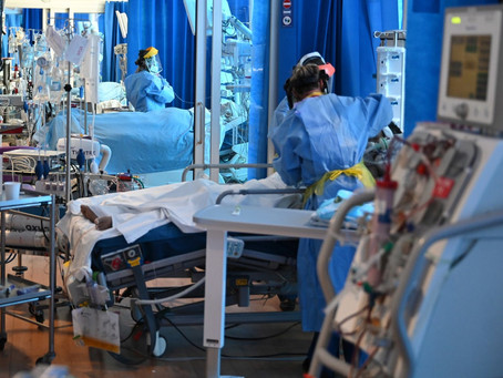 Intensive Care 'Risks Being Overwhelmed' As UK Tops 100,000 Covid-Related Deaths