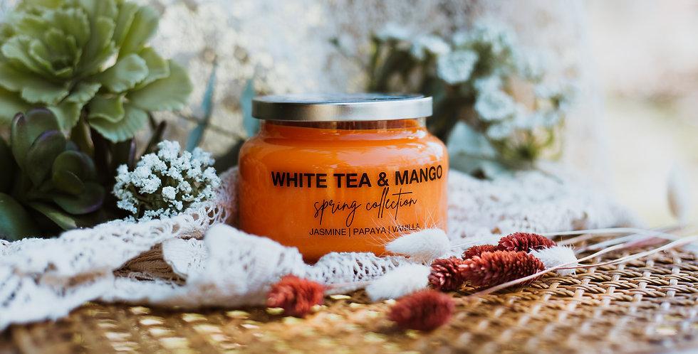 white tea & mango