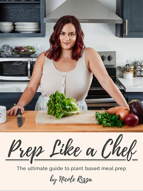Prep Like a Chef eBook