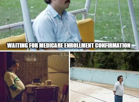 How long does it take to enroll in Medicare?