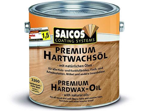 Saicos Premium Hardwax Oil 2.5 Litres