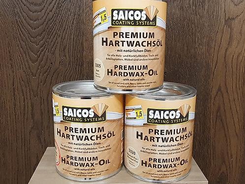 Saicos Premium Hardwax Oil .75ml