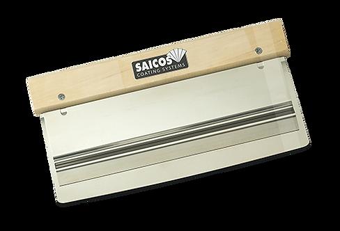Saicos Double Blade Scraper - Stainless Steel