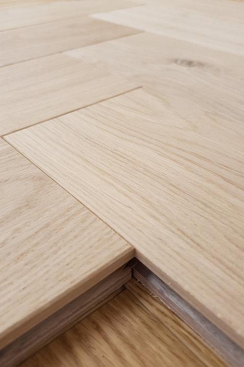 Unfinished Herringbone European Engineered Oak