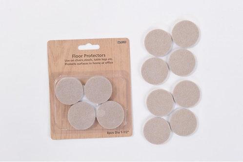 8 Piece felt Pads 38mm Diameter - 5mm thick