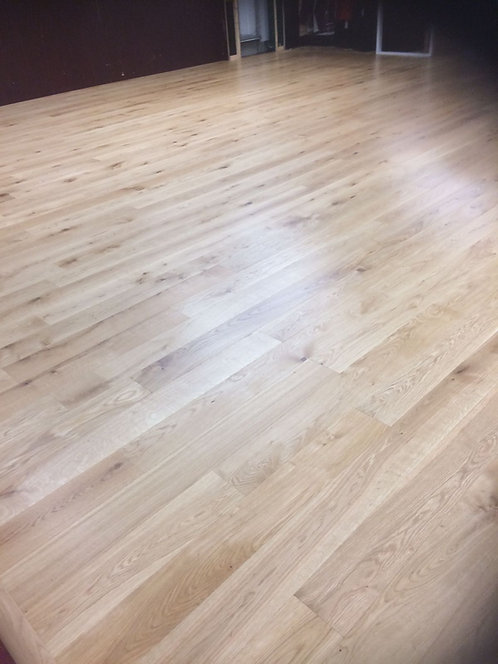 European Engineered Oak Brushed & Natural UV Oiled