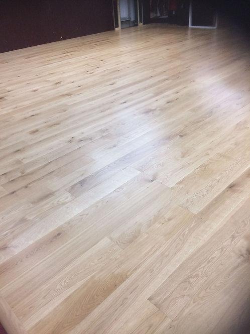 European Engineered Oak Brushed & Natural UV Oiled