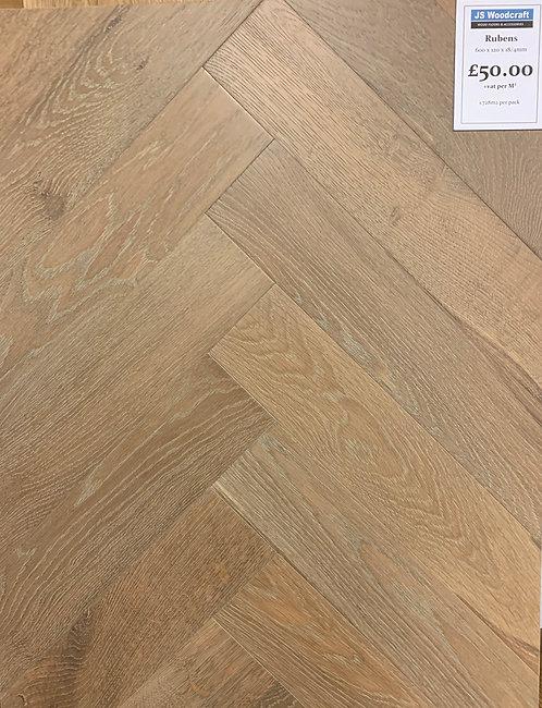 Rubens Herringbone 600 x 120 x 18/4mm
