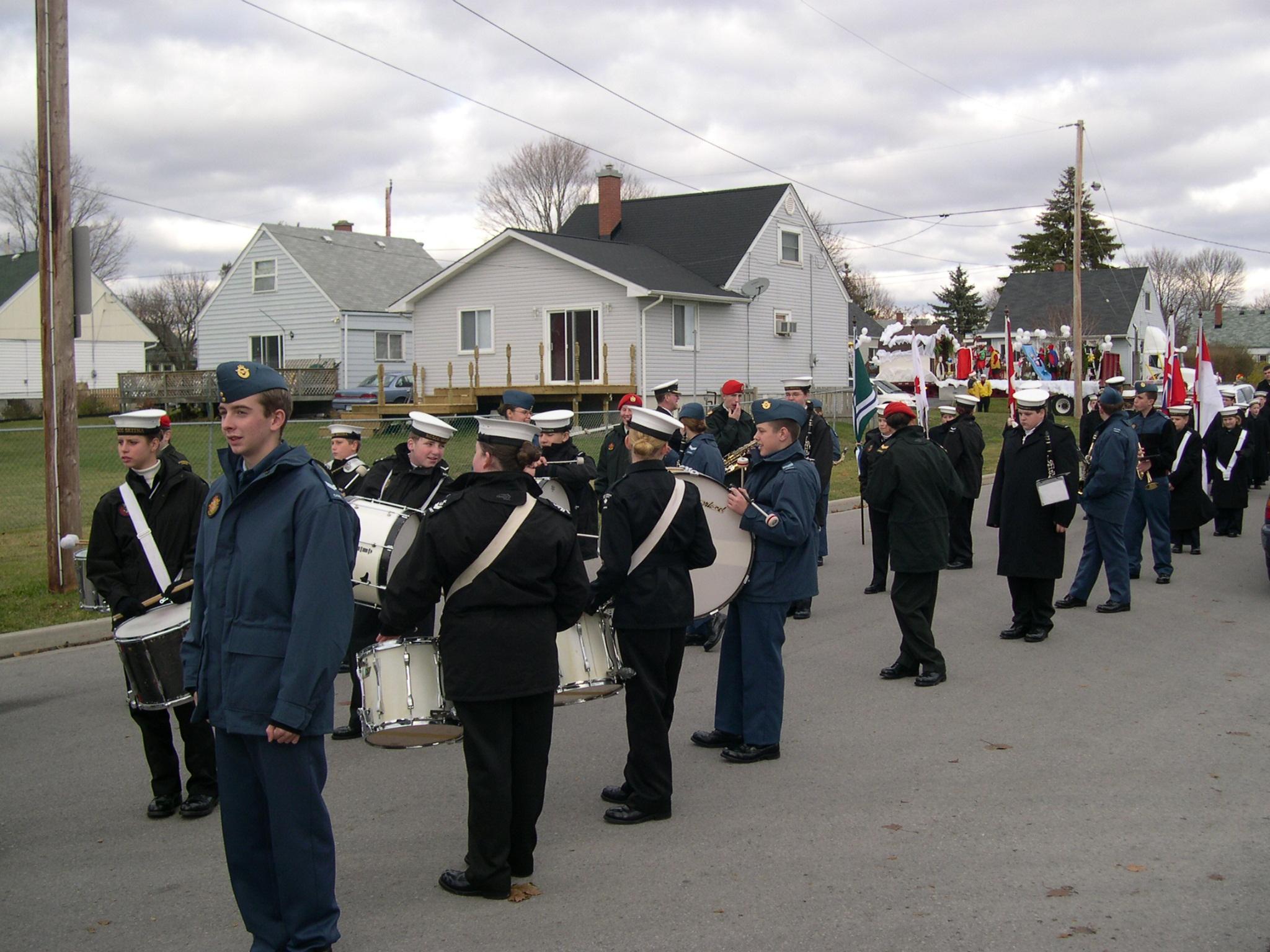 04-11-21 Cobourg Santa Claus Parade, Photo 04