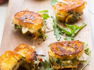 Mini Grilled Cheese Sandwich