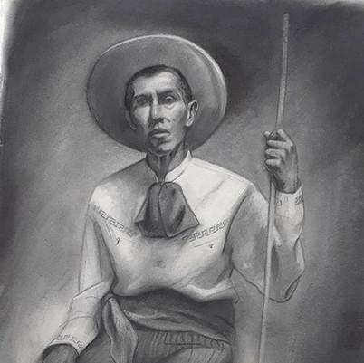 Life Drawing of Paul