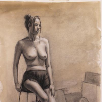 Life drawing of Vana