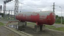 Servicio de prueba hidráulica a tanque hidroneumático
