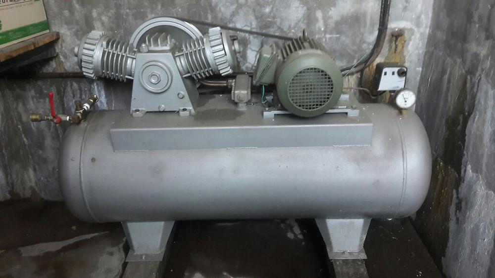Compresor de aire a pistón