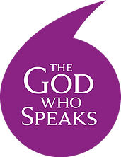 The God who Speaks logo.png