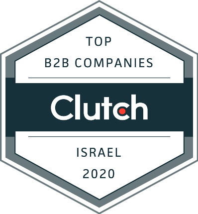 Clutch Top B2B companies award badge