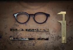 polissage manuel lunettes  sur mesur
